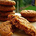 Biscuits caramel et flocons d'avoine