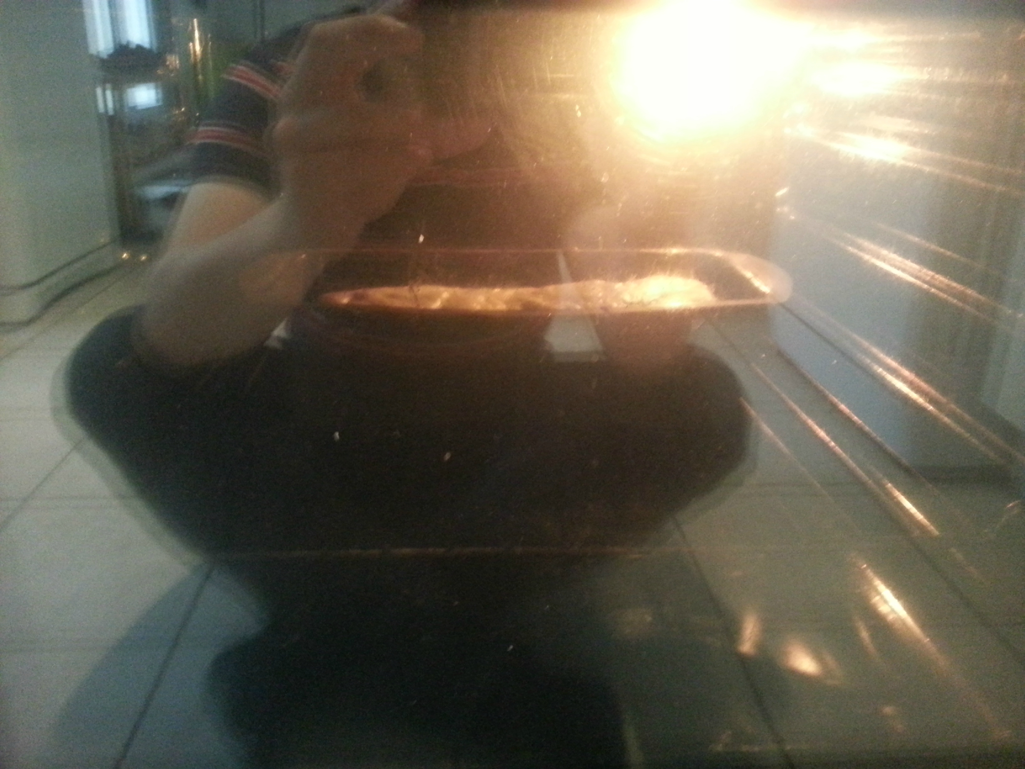 Cake aux lardons et au gouda de Baptiste