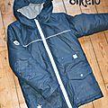 Le manteau d'hiver de robin