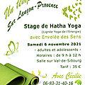 Stage de Hatha Yoga sur Lançon