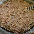 Gâteau de galettes de blé noir au jambon
