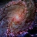 La Galaxie Andromède.