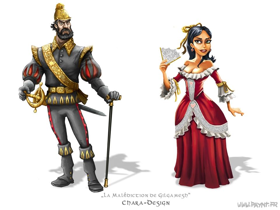 00_Gilgamesh_charadesign_comte-comtesse_riche_hollande_dessin_humour_presse_rigolo_web