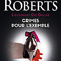 Lieutenant Eve Dallas, tome 2: