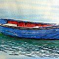 La barque aux reflets (33x20) 160€