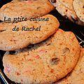 Cookies chocolat/pralines roses