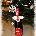 Personnaliser des bouteilles à offrir pour les fêtes de Noël et du <b>réveillon</b>
