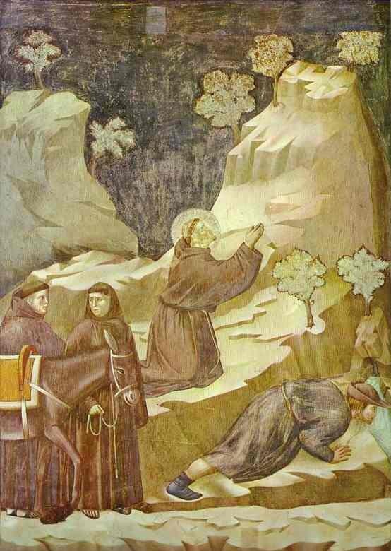 Saint François en prière sur l'Alverne
