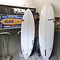 Slide surfboards