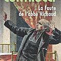 La Faute de l'abbé Richaud, de Jean Contrucci (2005)