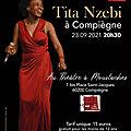 <b>Tita</b> Nzebi en concert à Compiègne le 23/09 : le renouveau de la chanson africaine