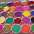 La symbolique des couleurs en inde