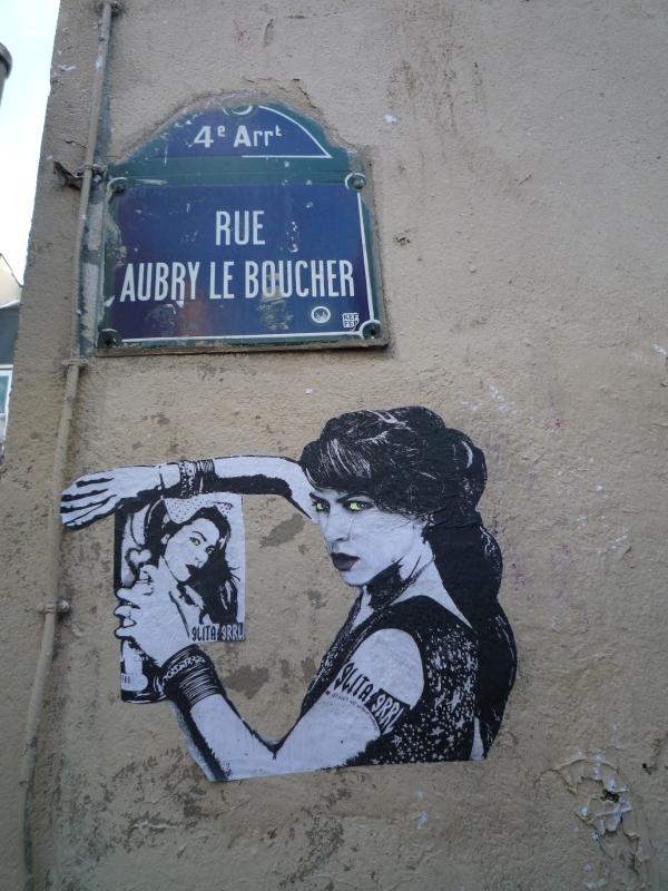 Glita Grrl, rue Quincampoix (2)