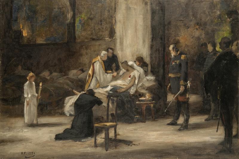 Forsberg (Nils), la fin d'un héros, souvenir du siège de Paris étude 1883