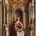 The Museo del Prado has received Berruguete's <b>Virgin</b> <b>and</b> <b>Child</b> enthroned