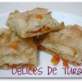 Börek aux carottes et poireaux - havuçlu pırasalı böreği