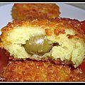 Croquettes de purée au curry...