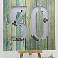<b>Carte</b> à secouer 50 ans - 50 year old shaker card