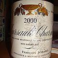 domaine <b>François</b> <b>Jobard</b> 2000 meursault 1er cru