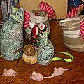 ²une invasion de souris dans ma maison..