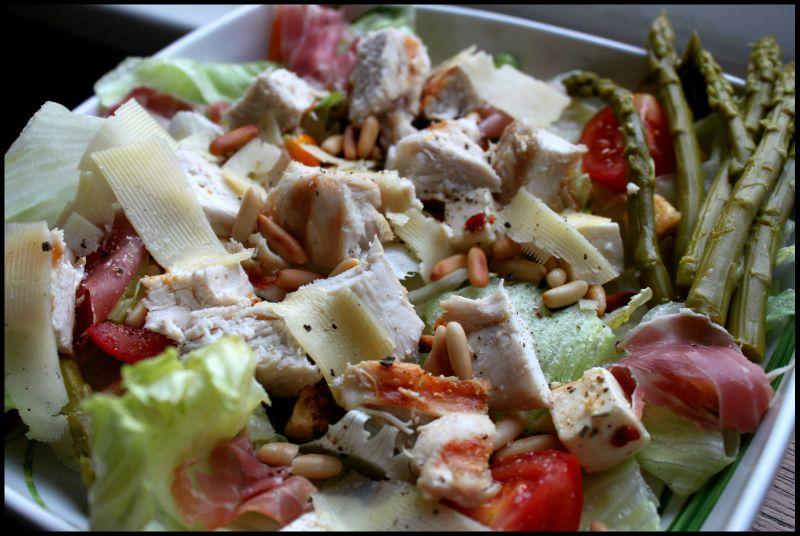 Salade césar à l'italienne