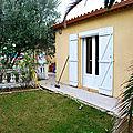 Lunel viel villa <b>plain</b> <b>pied</b> 3 chambres