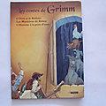 Les contes de Grimm, éditions Auzou
