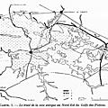 Découverte aérienne d'une voie antique au nord-est du golfe des pictons