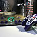 Part2/2 <b>Relique</b> N64 custom Zelda + Manette(s) Majora's Mask