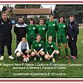 Football et futsal : les filles qualifiées pour les <b>championnats</b> de <b>France</b>