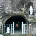 Institut du Bon Pasteur, la Grotte de Lourdes