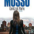 Central park le dernier roman de guillaume musso