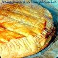 Galette à la frangipane et crème pâtissière