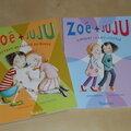Petites lectures en série : Zoé + Juju - Tomes 3 et 4
