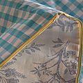 Range pyjama/coussin berlingot Turquoise