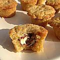 cookie muffin au kinder