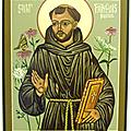 Vie de <b>Saint</b> <b>François</b> d'Assise le Patron de notre chorale
