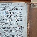 le fiertel air populaire Jules Blangenois manuscrit signé