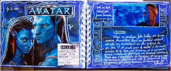 art journal avatar