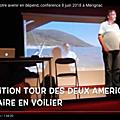 Océan et climat : votre avenir en dépend. Mérignac, 8 juin 2018. Ocean and climate: your future depends on them.
