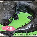P'tit gâteau anniversaire dragon: Krokmou
