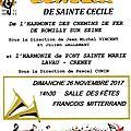 Concert de sainte cécile à romilly