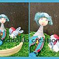 Dolilo'S petit ane bleu