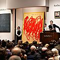 Sotheby's new york contemporary art evening auction achieves $242,194,000