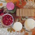 Preparation charlotte à la fraises