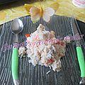 One pot rice au poisson et crevettes
