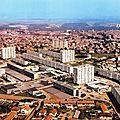 Chaumont, quartier du Cavalier et vue générale