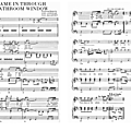 She came in through <b>the</b> bathroom window (Partition - Sheet Music)