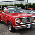 DODGE Adventurer 150 Li'l Red Truck pick-up 1978