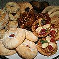 Assortiments pâtisseries marocaines